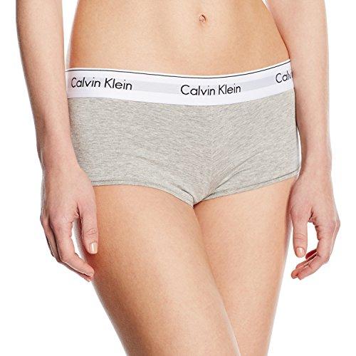 Calvin Klein Modern Cotton, Mutande da Donna, Colore Grigio (Grey Heather 020), Taglia M