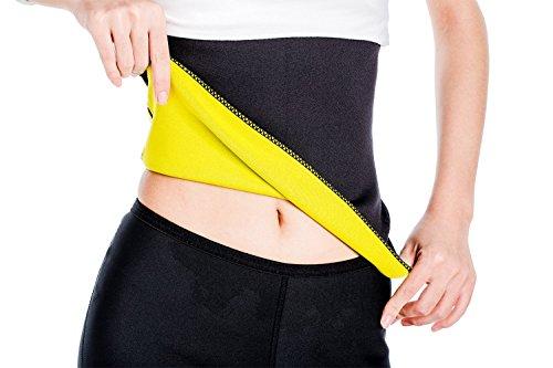 G-Smart Shapers, fascia per il sudore. Fascia sportiva dimagrante piatta, in neoprene, per yoga e fitness