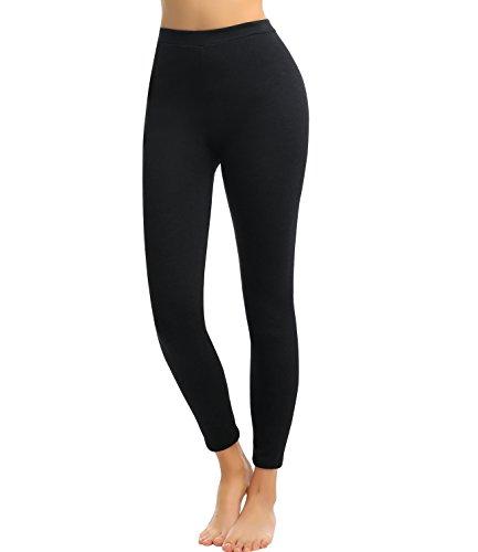 NINGMI Leggings Donna Vita Alta Cotone Elasticizzati Fitness Pantaloni