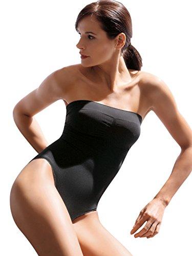 SENSI' Body Modellante Donna Senza Cuciture Spalline Sganciabili Made in Italy