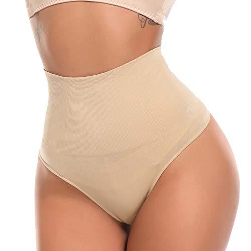 SLIMBELLE Donna Vita Alta Intimo Modellante Mutande Contenitive Guaina Shapewear Dimagrante Fascia Elastica Pancia Piatta Invisibile