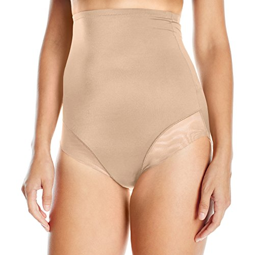 Triumph True Shape Sensation Super HW Panty - Guaina modellante, Avorio (Sable), taglia 5 IT (46 EU)