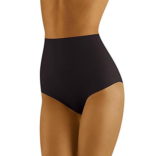Wolbar Slip Modellante A Vita Alta per Donna WB411, Nero,L