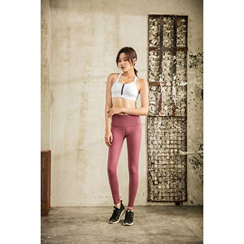 YOGOAOO Mesh Shaping Sport Leggings Fitness Donna Pantaloni da Yoga Traspirante Leggings da Palestra Pantaloni da Corsa da Donna