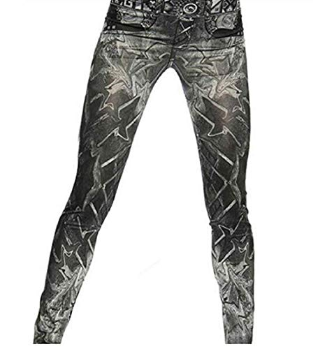 Inception Pro Infinite Leggings nero - Tipo Jeans