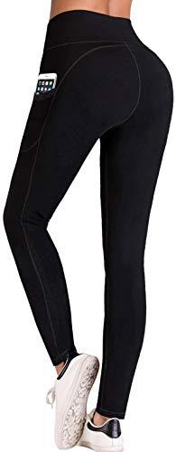 IUGA Vita Alta Yoga Pantaloni Tasca Interna e Esterna