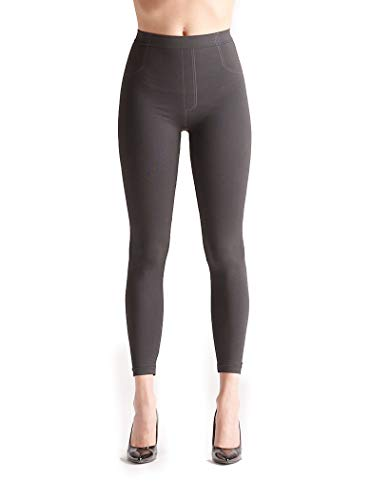 Jeggings Deep Black effetto snellente, BeGood
