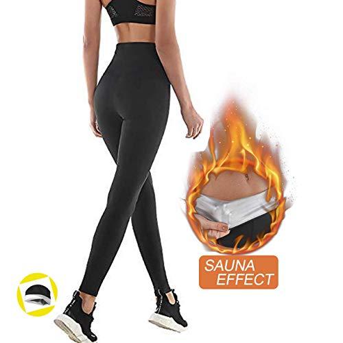 Pantaloni Sauna Dimagranti, Leggings Anticellulite, NHEIMA