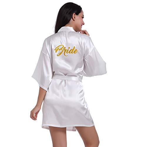 BOYANN Sposa Stampa a Caldo Vestaglie e Kimono