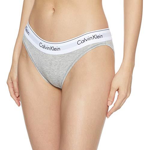 Calvin Klein 0000F3787E, Bikini Donna, Grigio (Grey Heather 020), 36 (Taglia produttore: S)