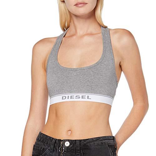 Diesel UFSB-MILEY, Reggiseno Donna, Grigio (Dark Grey Melange 96X-0Eauf), XS