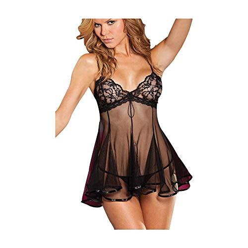 SEDEX Sexy Lingerie Donna Babydoll Set Esotico Bella Pigiama Fionda Chemise con Mutande Sexy Erotico Lingerie Sexy Donna Hot per Sesso