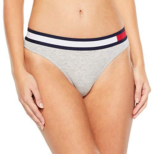 Tommy Hilfiger Bikini Mutande, Grigio (Grey Heather 004), No Aplica (Taglia Produttore: X-Small) Donna