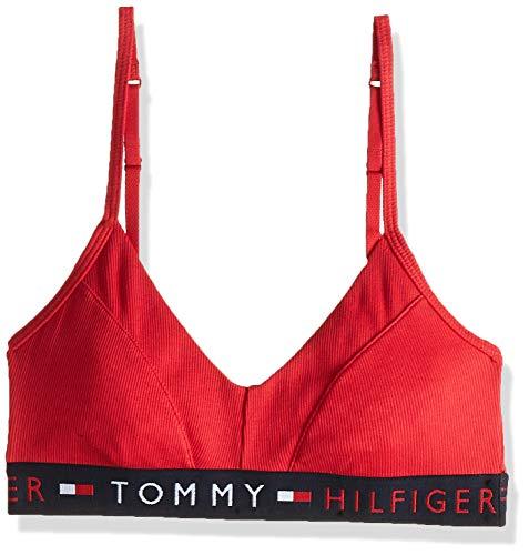 Tommy Hilfiger Bralette Reggiseno, Rosso (Red 611), 0A (Taglia Produttore: X-Small) Donna