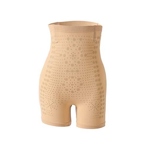 AAJZ Le Donne Pantaloncini a Vita Alta Pancia Controllo Shaper Mutandine, Panciera Shaping Intimo Seamless Compressione Shapewear 1012 (Color : Flesh, Size : One Size)