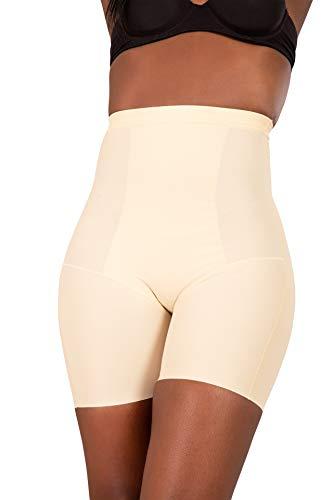 Glook Guaina Contenitiva Pantaloncino Short Corsetto Stringivita Modellante Dimagrante Intimo Donna (XL/IT 44, Beige)