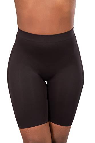 Glook Guaina Shapewear Contenitiva Pantaloncino Short Corsetto Stringivita Modellante Dimagrante Intimo Donna (XXXL/IT 48, Nero)