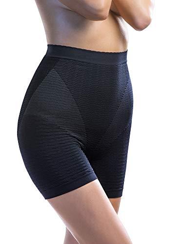 Intimidea Pantaloncino Massaggiante Effetto Anticellulite Extra-Comfort [Nero, Tg. S/M]