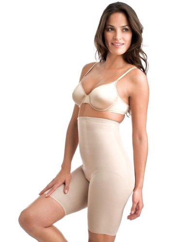 Miraclesuit Pantaloncini a Vita Alta Shapewear Classic Nudo 2709 Large