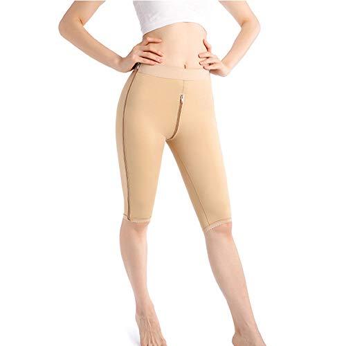 MOXIN Donna Pantaloncino Modellante, Vita Alta Pantaloncini Snellenti Invisible, Snellente Guaina Contenitiva Senza Cuciture Underpant Shapewear,Flesh,XXL
