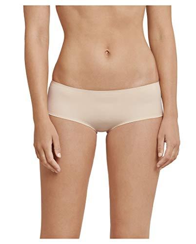 Schiesser Invisible Soft Panty - Mutandine invisibili, confezione da 4 beige 46