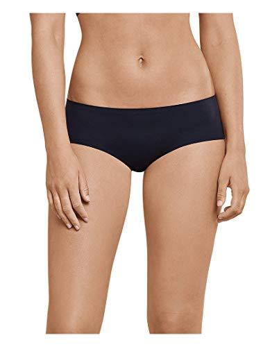 Schiesser Invisible Soft Panty - Mutandine invisibili, confezione da 5 Nero 42
