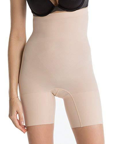 Spanx Pantaloncini contenitivi e modellanti Super Higher Power beige 42