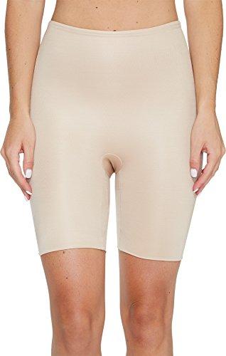 Spanx Power Conceal-Her Mid-Thigh Short Slip, Beige (Natural Glam 000), XL Donna