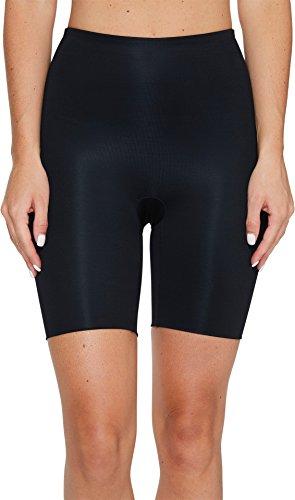 Spanx Power Conceal-Her Mid-Thigh Short Slip, Nero (Very Black 000), M Donna