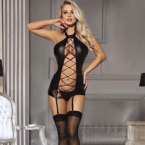 GREQ Abbigliamento Erotico Intimo Sexy Taglie Forti Abito Intero Personaggio Tentazione Uniforme Vestiti Sexy Vestito da Cameriera