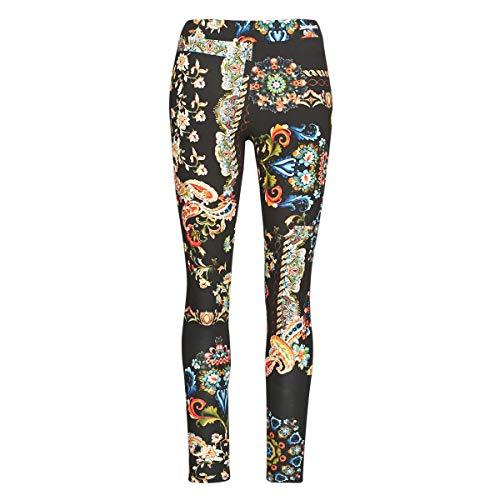 Desigual Legging_Galactic Pantaloni Casual, Nero, L Donna