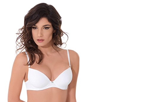 Papillon Balconcino Push up con Coppe in Gel Miracle 2731 (1, Nero)