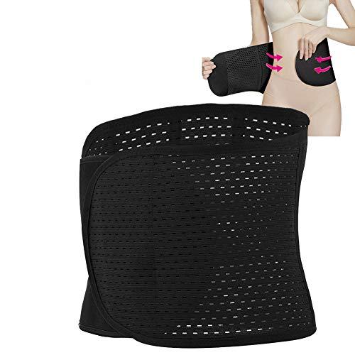 TMISHION Fascia Post Operatoria,Postpartum Shapewear Corset for Woman Belt Dopo Il Recupero della Gravidanza Corsetti di Sostegno Lombare Addominali (Nero)