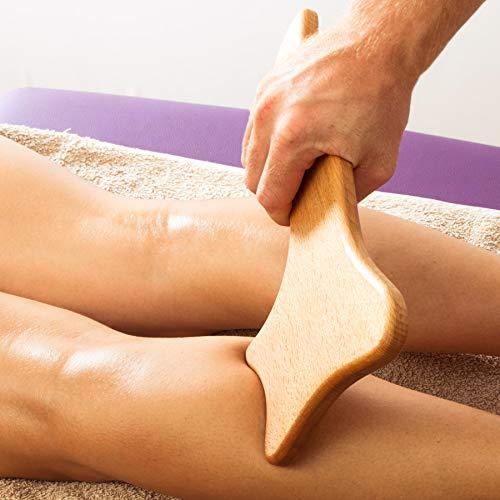Tuuli Accessories Anti Cellulite Massaggiatore Massaggio Anticellulite Maderoterapia Legno 33 x 16 cm